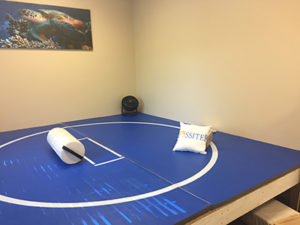 Picture of a Rossiter Mat at Janet Klose's Therapeutic Massage Center