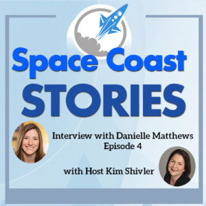 Podcast coverart image includes headshots of Danielle Matthews and Kim Shivler.